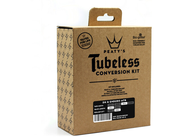 Peaty's Road/Cyclocross Tubeless Conversion Kit 21mm